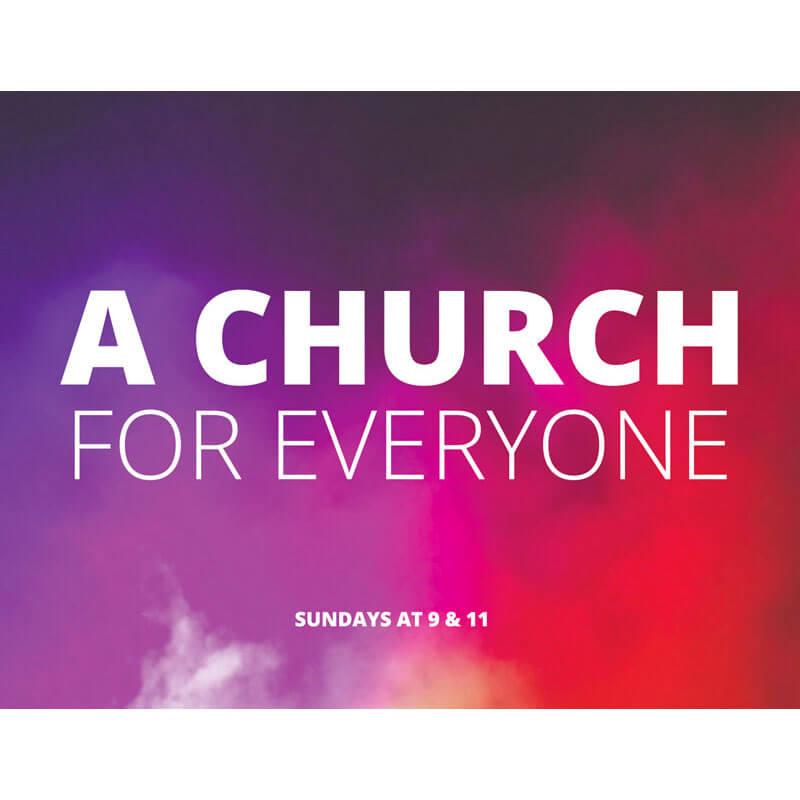 Church Invite Card Abstract